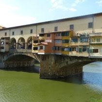 """""""Ponte Vecchio"""" über dem """"Arno"""""""