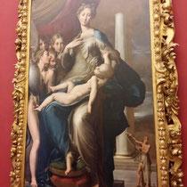 Parmigianino,  Madonna mit dem langen Hals