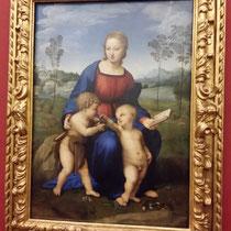 Raphael:  Madonna mit dem Stieglitz