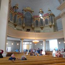 während des Orgelkonzertes in der lutherischen Domkirche