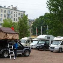 """Stellplatz des """"Hotel Elizar"""""""