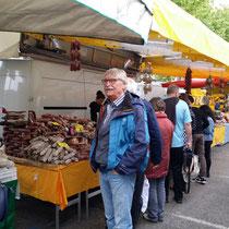 Markt in Verbania