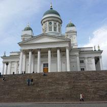 die Domkirche mit der gewaltigen Treppe