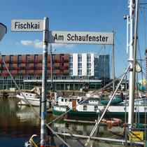 im ehemaligen Fischereihafen