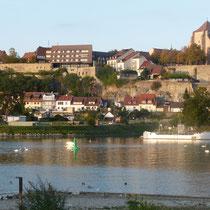gegenüber von Breisach - auf der anderen Rheinseite
