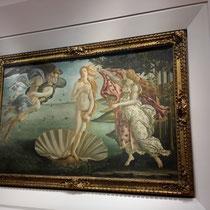S. Botticelli:  Geburt der Venus