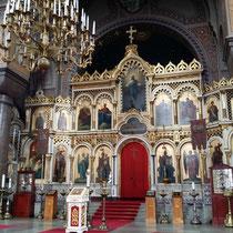 Ikonen und Wandmalerei in der Upenski-Kathedrale