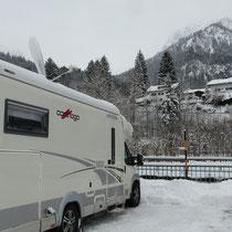 Stellplatz in Oberstdorf