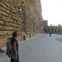 """am """"Palazzo Pitti"""""""