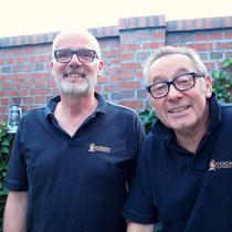 Michel, unser heutiger Gastgeber, mit Jochen