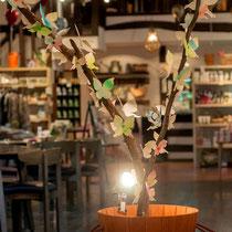 オブジェ 蝶の木
