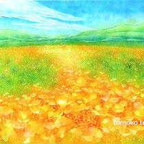 花園 (2009制作・水彩)
