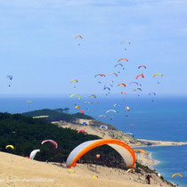 parapente dune du pilat pyla sur mer. Black Bedroom Furniture Sets. Home Design Ideas