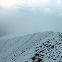Schnee auf der Dune du Pilat