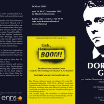 Dorian Gray Flyer