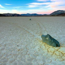 The stones of Racetrack Playa