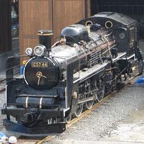 国鉄C57形蒸気機関車44号機「春雷号」