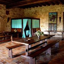 Chambre médiévale Le Chevalier du château-fort de Tennessus