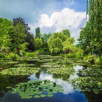 Monet Garten Giverny, Normandie, Frankreich