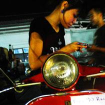Talad Rot Fai - der Railway Market in Bangkok