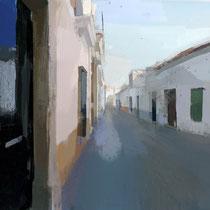 Casas. 60x80 cm.