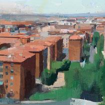 Madrid desde las afueras (Detalle).
