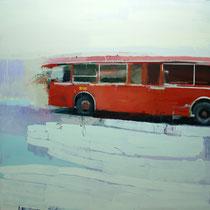 Autobus. 160x160cm.