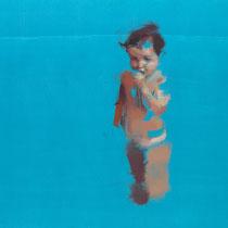 La piscina. 45x74 cm.