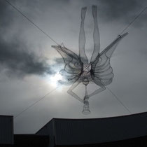 St Gabriel suspended sculpture. © Charles Rocco