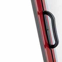Detalle mosquitera enrollable lateral (asa tirador)