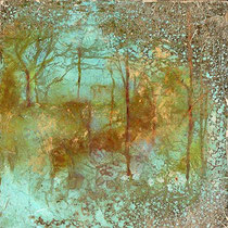 Forest Dawn 7 (15x15x5cm) SOLD