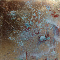 Forest Dawn 13 (15x15x5cm) SOLD