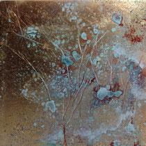 Forest Dawn 13 (15x15x5cm) SOLD