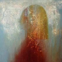 Profile2(oil on canvas 40x40cm)