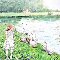 メルヘン がちょうの池