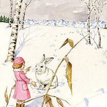 メルヘン 夢のうさぎ-冬