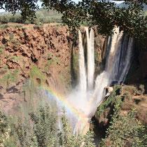 De cascades bij Ouzoud