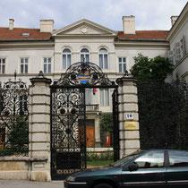 Zagreb het mooiste hek van kroatie door herman bolle gemaakt