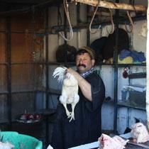 De slager van het dorp