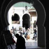 Grote moskee in de souk