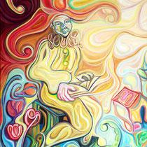 El adivino / Óleo sobre lienzo / 120 x 100 cm  /2008