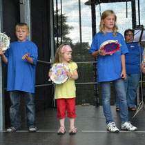 Zum Abschluss der Auftritt spielt die Jugend des Spielmannszug Harmonie Bad Homburg e.V.