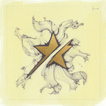 48-Stella divisa - Oro
