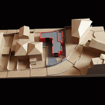 Reconstruction, Cap Ferrat - Carton ondulé - 1/200