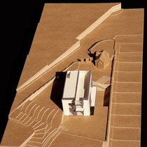 Villa 105, Nice - Présentation - Carton craft - 1/200
