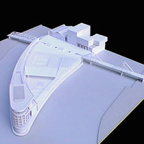 Pointe de l'Île Seguin - Travail personnel de fin d'étude - Carton blanc - 1/500