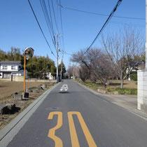 昭和町方面