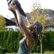 Brunnen im Hotel Waidachhof