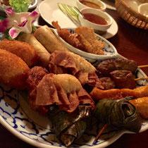 Thailaendisch essen im Thai Haus in Koeln