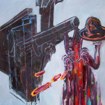 Just-shoot-me,-Oil,-150-x-115cm,-2012